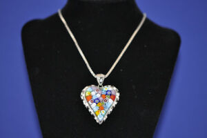 Large Murano Necklace by Alan K