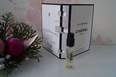 """LES EXCLUSIFS DE CHANEL """" SYCOMORE """" EAU de PARFUM Mini spray 1,5  ml NEUF"""