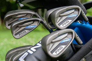 PING G30 Complete Set of 9 irons clubs, Black DOT – 580$, neg.