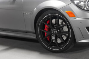 Fantastic Mercedes C63 AMG 507 Edition wheels and tires