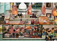 Retail Assistant, Italian Delicatessen, Soho - £10 per hour