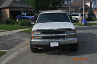 1998 Chevrolet Cheyenne Extended Cab Pickup Truck 5.7 L