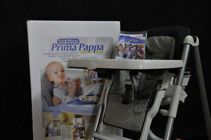 Peg-Perego (Prima Pappa) High Chair- Excellent Condition