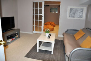 FURNISHED STUDIO BASEMENT for Working Female or Student
