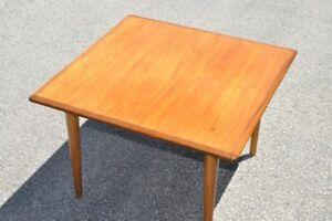 Mid century teak side table