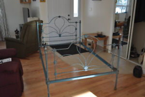 Antique Cast iron/Wrought Iron Bed Frame