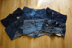 lot de 6 paires de shorts