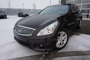 INFINITI G37X 2011 LUXURY 99000KM Berline 307$ MOIS 13995$