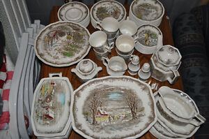 Shakespeares Sonnets Ironstone Dish set - kensington collection