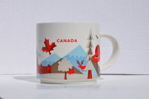 Starbucks You Are Here Collection Canada Mug