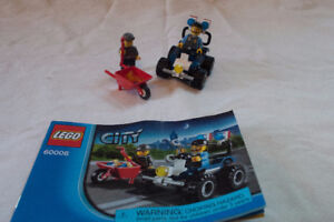 LEGO City Police ATV (60006) with Manual and Box