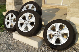 Mercedes OEM 19in Wheels set of 4 with Runflat Tires
