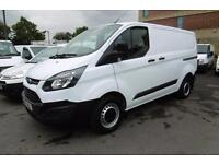 2015 FORD TRANSIT CUSTOM 290 L1 H1 SWB 2.2 100 6-SPEED EUR0 5 WITH ONLY 41,000 M