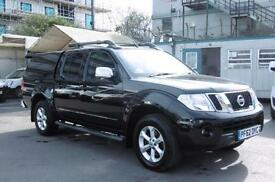 2013 NISSAN NAVARA DCI TEKNA AUTOMATIC 4X4 DCB IN BLACK WITH ONLY 44.000 MILES 4