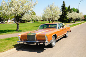 ONE OF A KIND, 1978 LINCOLN CONTINENTAL TOWN CAR