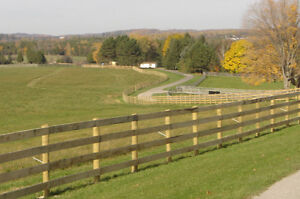 HORSE FENCE...All Types of livestock, equine and farm fence, Kawartha Lakes Peterborough Area image 6