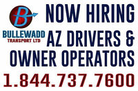 NOW HIRING  OWNER OPERATORS ( GET PAID IN 48 HOURS)