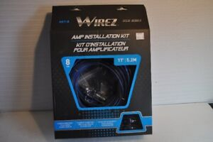 Amp Install Kit, Wirez AKT-8