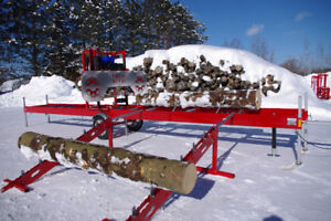 Scierie Mobile, portable sawmill, moulin a scie