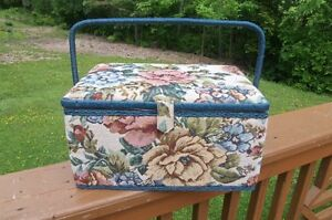 Tapestry Style Large size Sewing Basket