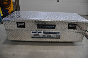 Lund Aluminum truck tool box, Lund flush mount truck tool box Strathcona County Edmonton Area image 1