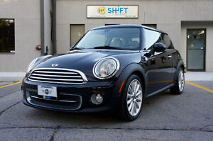 2012 MINI COOPER LOUNGE LEATHER, SPORT PACKAGE, PANORAMIC ROOF