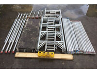 6.2m Working Height Eiger 500 Aluminium Scaffold Tower Like Boss Youngman Fully Complete
