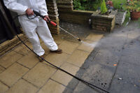 Driveway, House Siding and Patio Pressure Washing