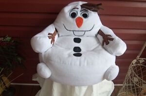 Disney Frozen Olaf Character Toddler Bean Bag Play Chair