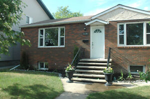 3 BR Bungalow Near Whyte Ave