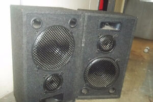 2 sets/Pairs of beautiful speakers & Home Theater systems...