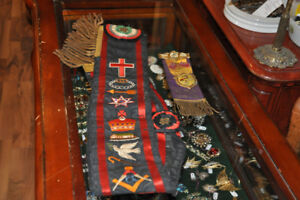 ROYAL BLACK PRECEPTORY KNIGHTS OF IRELAND SASH AT ORONO ANTIQUES
