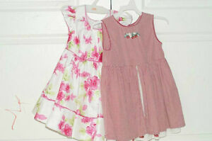 (2) 3T girls dress Baby Gap+jona michelle 6