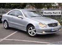 2005 Mercedes-Benz CLK 1.8 CLK200 Kompressor Avantgarde 2dr