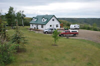Private 10 acre Horse Acreage and Home. Breathtaking Views!