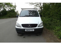 2008 08 Mercedes-Benz Vito 109 CDI LONG WHEEL BASE PANEL VAN LWB TWIN SIDE DOORS