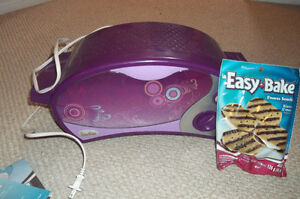 Easy Bake Oven with Smores!!