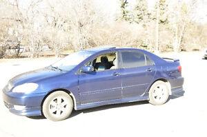 2003 Toyota Corolla Sport package Sedan Regina Regina Area image 3