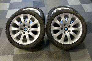 """BMW 17"""" Winter Wheels and Pirelli Winter Carving Studer Tires"""