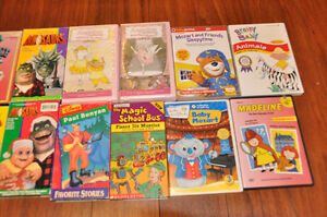 Assorted childrens VHS and some DVD's Gatineau Ottawa / Gatineau Area image 5