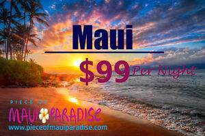 MAUI $99/ Night; JUNE 22, 2017 – AUGUST 16, 2017