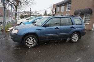 2007 Subaru Forester AWD **TOIT OUVRANT** NEGOCIABLE