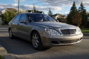 2005 MERCEDES BENZ S430 4 MATIC, (AWD, 4x4) with 35800 km only