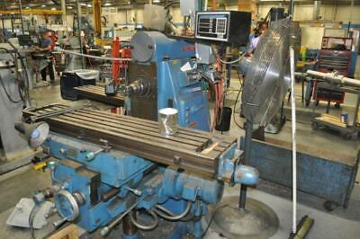 Cincinnati Unversal Milling Machine Cinova 80 205-12 28 Table Travel 10 Saddle