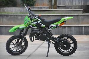 BRAND NEW 50CC PREMIUM GAS POCKET DIRT BIKE MOTOCROSS 2-STROKE 49CC WITH SPEED GOVERNOR!