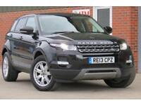 LAND ROVER RANGE ROVER EVOQUE 2.2 ED4 PURE 5 DOOR DIESEL 2013 13 REG BLACK