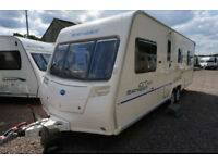 2010 BAILEY RANGER GT60 620 TWIN AXLE 6 BERTH CARAVAN - FIXED BED - SIDE DINETTE