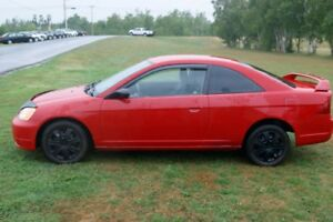 2002 Honda Civic Brand new motor Coupe (2 door)