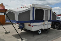 2001 Starcraft 1706 Tent Trailer- WINTER PRICING!