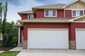 Immediate Possession: 2 Storey Half Duplex in South Edmonton